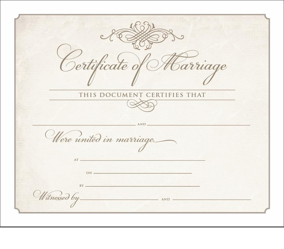 SamplesofOrdinationPacket – Sample Marriage Certificate